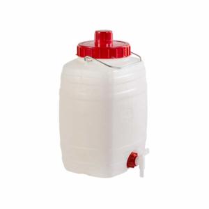 Barel na vodu DEMETRA s kohoutkem plast 10l