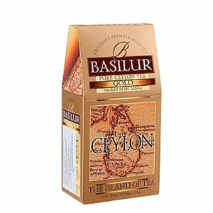 Čaj Basilur Island of Tea Gold 100g