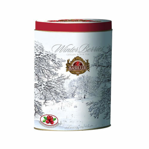 Čaj Basilur Winter Berries Cranberries plech 100g