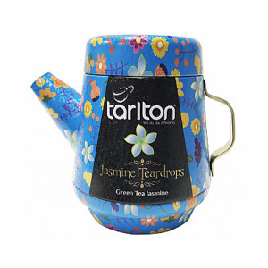 Čaj Tarlton Tea Pot Green Jasmine Teardrops 100g