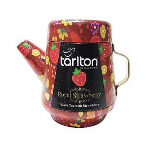 Čaj TarltonTea Pot Black Royal Strawberry 100g