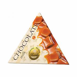 Čokoláda mléčná Severka karamel 50g