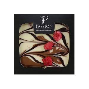 Čokoláda PASSION CUVÉE mléčná/bílá - lesní plody 90g