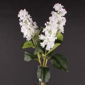 Hortenzie latnatá TRIST umělá bílá 93cm