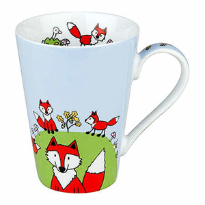 Hrnek GLOBETROTTER FOX porcelán 420ml