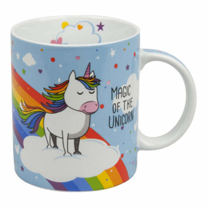 Hrnek THE MAGIC OF THE UNICORN porcelán 300ml