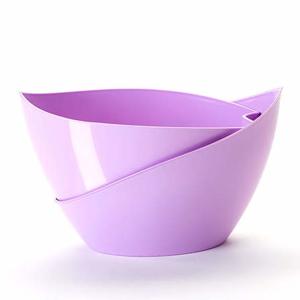 Květináč samozavlažovací DOPPIO plast fialová 21,5cm