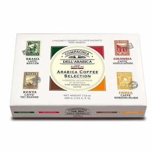 Mletá káva Arabica Coffee Selection 4ks