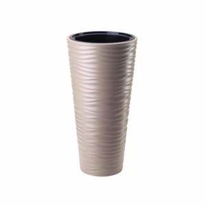 Obal SAHARA SLIM plast hnědo-šedá 30cm