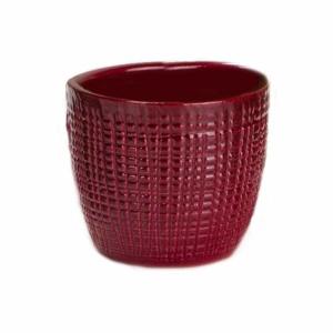 Obal Scheurich DARK RED 866 keramika 14cm