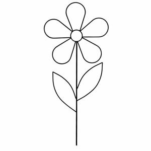Opora/zápich květina