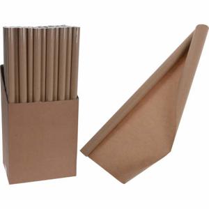 Papír balicí bez dekoru hnědá 2m
