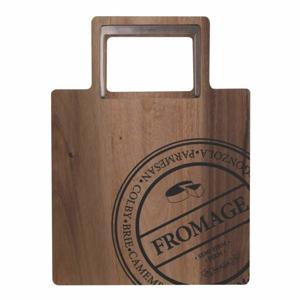 Prkénko dřevěné servírovací hranaté FROMAGE 1 ucho S&P 30cm