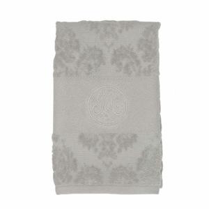 Ručník BRODERIE bavlna šedá 30x50cm