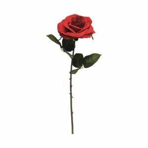 Růže ANGEL řezaná umělá červená 46cm