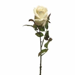 Růže DODO řezaná umělá krémová 59cm