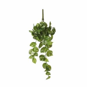 Scindapsus závěs umělý bílo-zelená 58cm