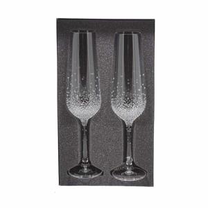Sklenice na šampaňské GAIA SWAROVSKI 2ks sklo