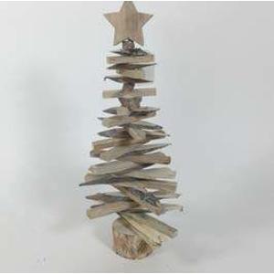 Strom s hvězdou dřevěný 48cm