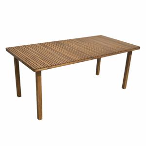 Stůl hranatý LEEDS dřevo