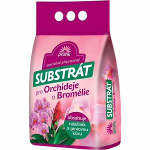Substrát FORESTINA pro orchideje a bromélie 5 litrů