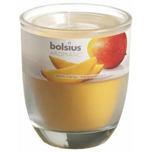 Svíčka vonná sklo BOLSIUS Exotic Mango