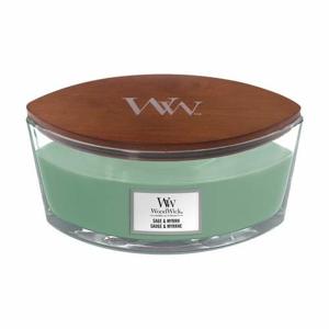 Svíčka WoodWick oválná Sage & Myrth 453g