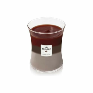 Svíčka WoodWick Trilogy Forest Retreat 275g