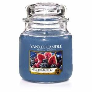 Svíčka YANKEE CANDLE  411g  Mulberry & Fig Delight