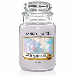 Svíčka YANKEE CANDLE 623g Sweet Nothings