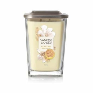 Svíčka YANKEE CANDLE Elevation 552g Rice Milk & Honey
