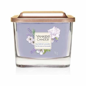 Svíčka YANKEE CANDLE Elevation 96g Sea Salt & Lavender