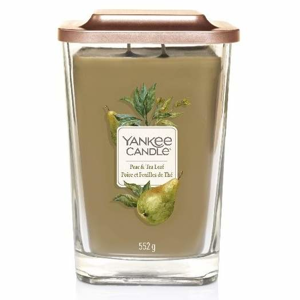 Svíčka YANKEE CANDLE Elevation Pear & Tea Leaf 533g