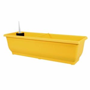Truhlík samozavlažovací TORENIE plast 60cm žlutá