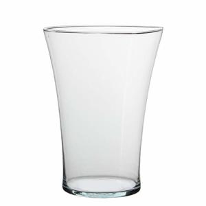 Váza kónická sklo čírá