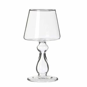 Váza skleněná stolní lampa 12,5cm