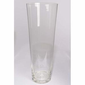 Váza skleněná válec kónická 50cm