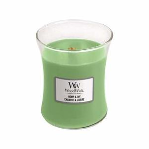 Vonná svíčka WoodWick Hemp & Ivy 275g