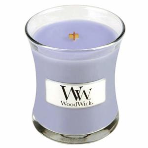 Vonná svíčka WoodWick Levandulová lázeň 85g