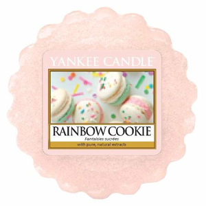Vosk YANKEE CANDLE 22g Rainbow Cookie