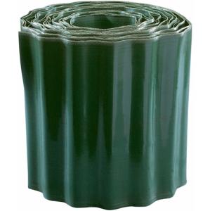 Záhonový obrubník 20cmx9m PVC zelený
